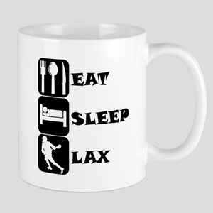 Eat Sleep Lax Mugs