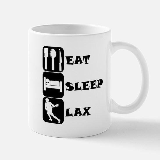 Eat Sleep Lax Mugs