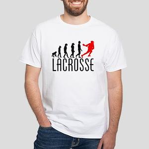 Lacrosse Evolution (Red) T-Shirt