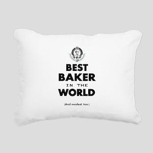 Best 2 Baker copy Rectangular Canvas Pillow