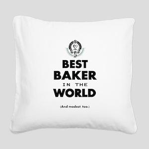 Best 2 Baker copy Square Canvas Pillow