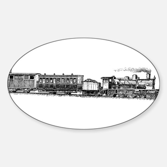 Steam Engine Decal