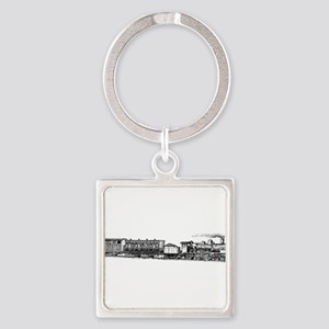 Steam Engine Keychains