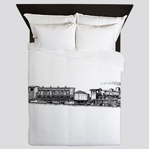 Steam Engine Queen Duvet