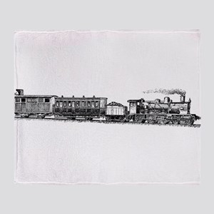 Steam Engine Throw Blanket