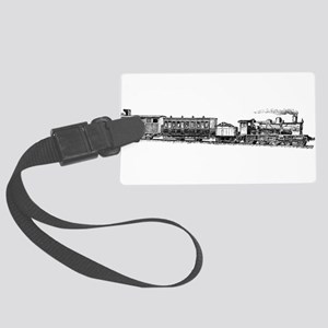 Steam Engine Luggage Tag