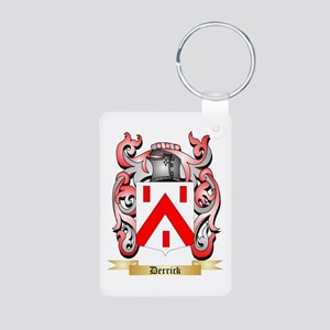 Derrick Aluminum Photo Keychain