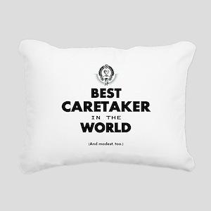 Best in the World Best Caretaker Rectangular Canva