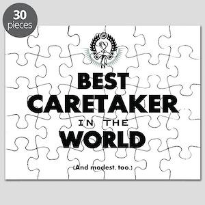 Best in the World Best Caretaker Puzzle