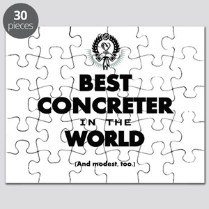 Best in the World Best Concreter Puzzle