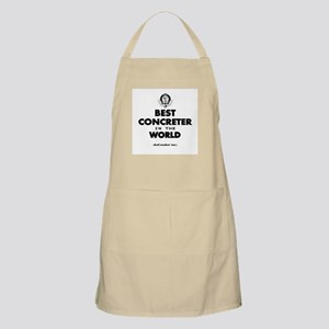 Best in the World Best Concreter Apron