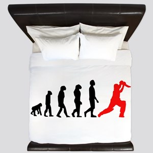 Cricket Evolution (Red) King Duvet