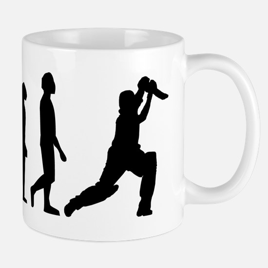 Cricket Evolution Mugs