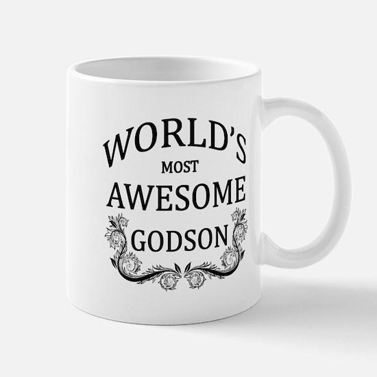 World's Most Awesome Godson Mug