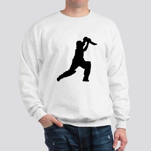 Cricket Player Silhouette Jumper