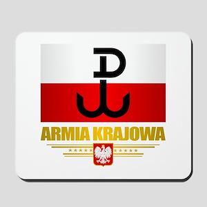 Armia Krajowa (Home Army) Mousepad