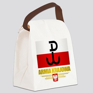 Armia Krajowa (Home Army) Canvas Lunch Bag