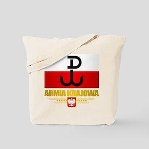 Armia Krajowa (Home Army) Tote Bag