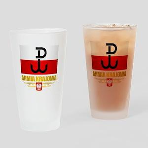 Armia Krajowa (Home Army) Drinking Glass