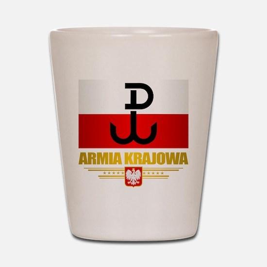 Armia Krajowa (Home Army) Shot Glass
