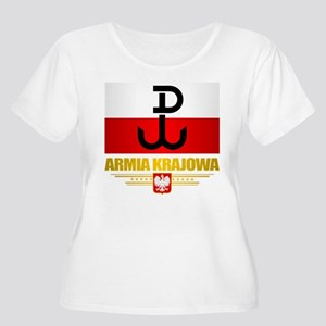 Armia Krajowa (Home Army) Plus Size T-Shirt