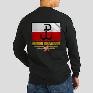 Armia Krajowa (Home Army) Long Sleeve T-Shirt