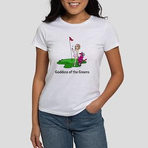 Goddess of Golf Women's T-Shirt