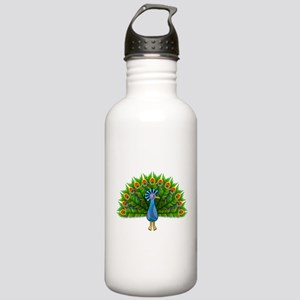 Peacock Sports Water Bottle