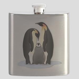 Penguin Family Flask