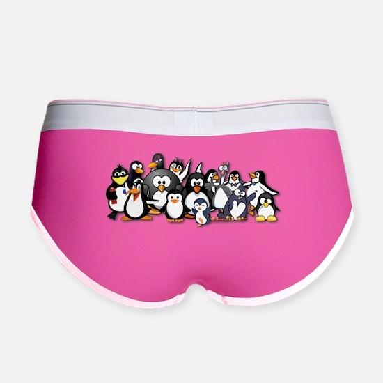 Penguins Women's Boy Brief