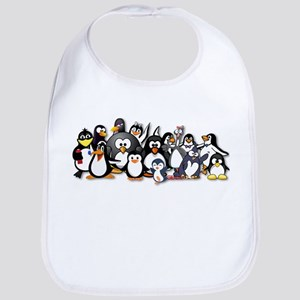 Penguins Bib