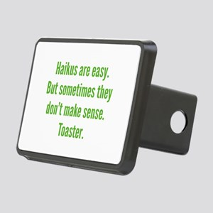 Haikus Are Easy Rectangular Hitch Cover