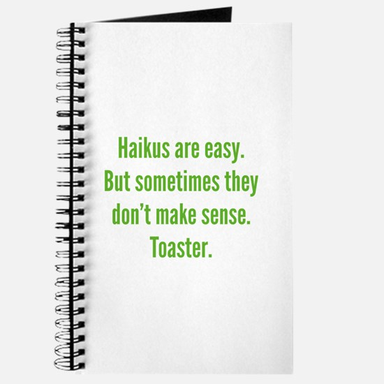 Haikus Are Easy Journal