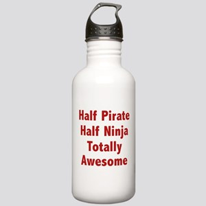 Half Pirate Half Ninja Totally Awesome Stainless W