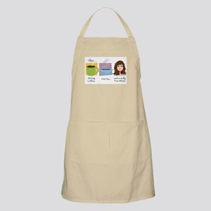 A Fine Whine - Brunette BBQ Apron