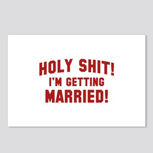 Holy Shit! I'm Getting Married! Postcards (Package