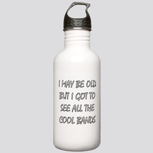 I May Be Old.. Water Bottle