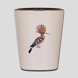 Hoopoe Bird Shot Glass