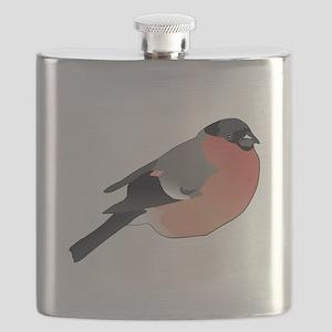 Eurasian Bullfinch Flask