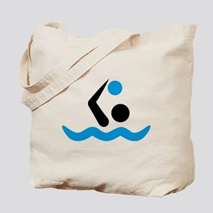 Water polo logo Tote Bag