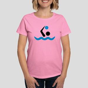 Water polo logo Women's Dark T-Shirt