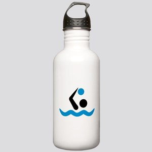 Water polo logo Stainless Water Bottle 1.0L