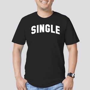 SINGLE Men's Fitted T-Shirt (dark)