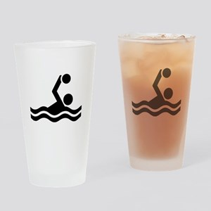 Water polo icon Drinking Glass
