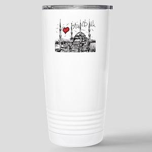I love Istanbul Stainless Steel Travel Mug