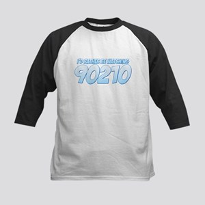 I'd Rather Be Watching 90210 Kids Baseball Jersey