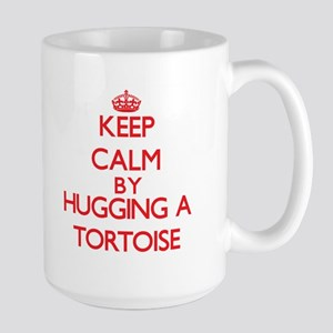Keep calm by hugging a Tortoise Mugs
