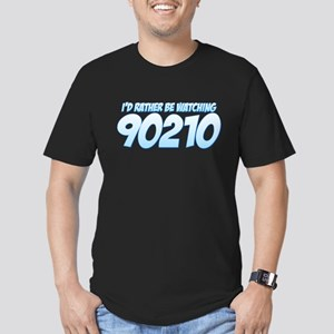 I'd Rather Be Watching 90210 Men's Fitted T-Shirt