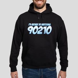 I'd Rather Be Watching 90210 Hoodie (dark)