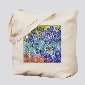 Van Gogh Blue Irises Tote Bag